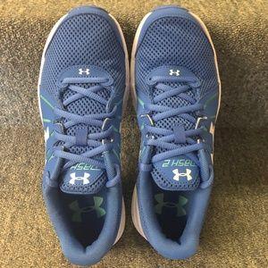 new style c9d96 64c58 Under Armour Women's Dash 2 Running Shoe Blue- NIB